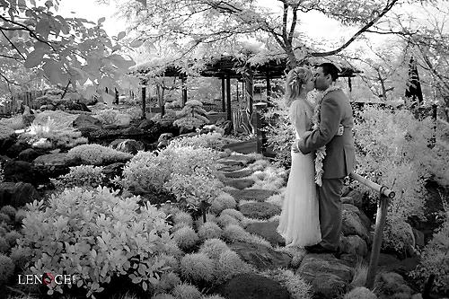 infared wedding
